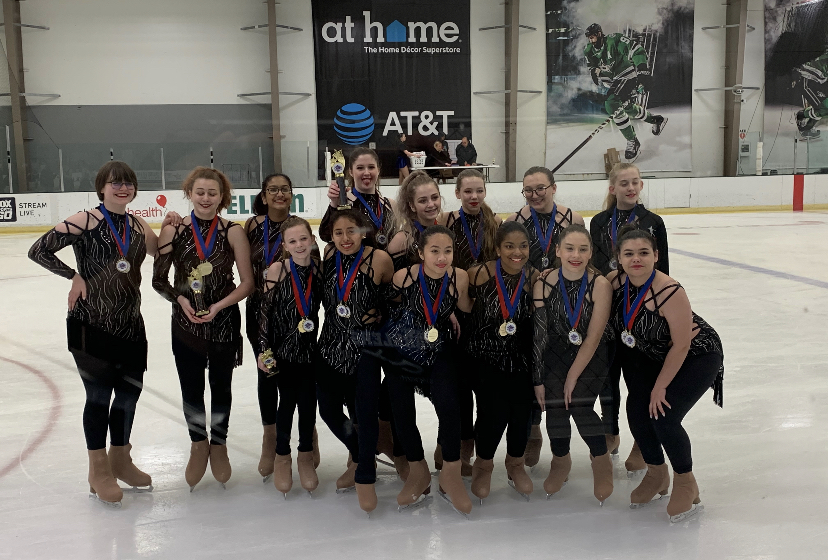 "Sophomore Athena Tseng and freshman Karina Grokhovskaya often spend hours each week with their synchronized skating team with team often consisting of eight to 20 skaters.  ""I want them to feel empowered that they are an important part of a team,"" coach Kim Hansen said. ""That their presence is vital and that they add to the success of the team as a whole. This experience is different than being part of a group of friends as it carries a specific goal and while these girls are friends, they are also coworkers, colleagues, and teammates."