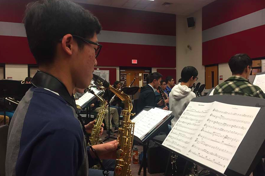 While band and orchestra students are unable to meet with their private lesson instructors on campus, they are now able to meet virtually to continue improving. While this new mode of instruction has brought some challenges, it has also enabled instructors to better help their students.