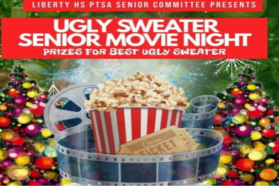Hosted by the PTSA, Sweater Senior Movie Night aims to be a fun event for seniors to celebrate their last few months of high school.