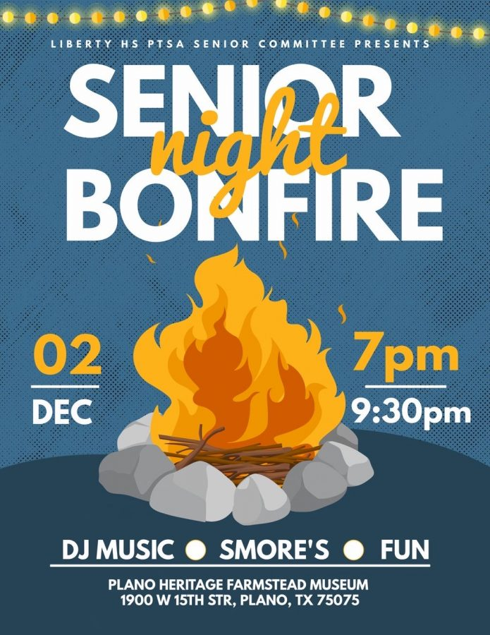 While senior year may be different for the class of 2021, the senior bonfire Wed. at 7 p.m. holds their spirit. Located in Plano's Heritage Farmstead, a historic city location, the event will create a warm atmosphere physically and emotionally for the seniors to enjoy their final months together.