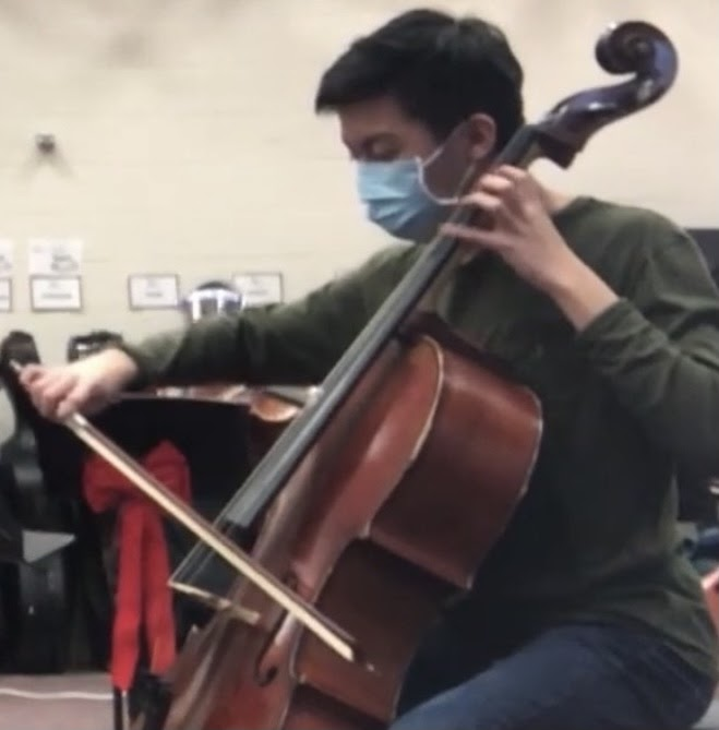 Celloist Nathan Chen finds the balance between practice time and the rest of his school work.