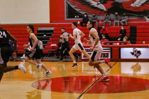 Both basketball teams where in action Tuesday night as they took on  Lebanon Trail and ended up on top. The girls finished with 47-24 while the guys finished 67-48.
