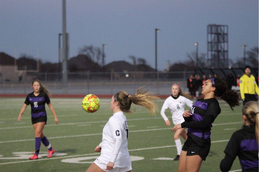 The girls' team traveled to WHS to take on the Wolverines Tuesday night, they fell short 3-0. Shortly after the boys' team also fell short at home 3-0.