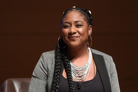 Alicia Garza is a queer social justice activist who co-founded the Black Lives Matter Global Network alongside Patrisse Cullors and Opal Tometi. Garza is also the principal of the Black Futures Lab.