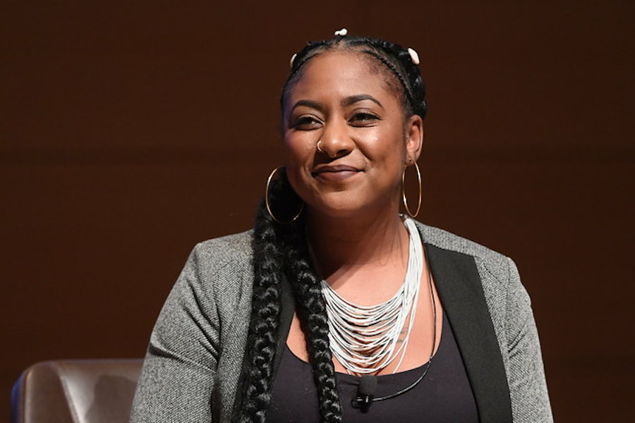 Alicia+Garza+is+a+queer+social+justice+activist+who+co-founded+the+Black+Lives+Matter+Global+Network+alongside+Patrisse+Cullors+and+Opal+Tometi.+Garza+is+also+the+principal+of+the+Black+Futures+Lab.