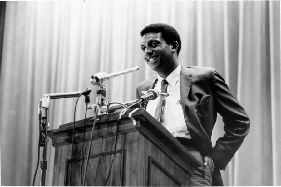 Kwame Ture, also known as Stokely Carmichael, was a Black nationalist, socialist Pan-Africanist, anti-capitalist and revolutionary. He was a leading figure in the Black Panther Party and the Student Nonviolent Coordinating Committee, as well as a leader of the socialist political party All-African People's Revolutionary Party.