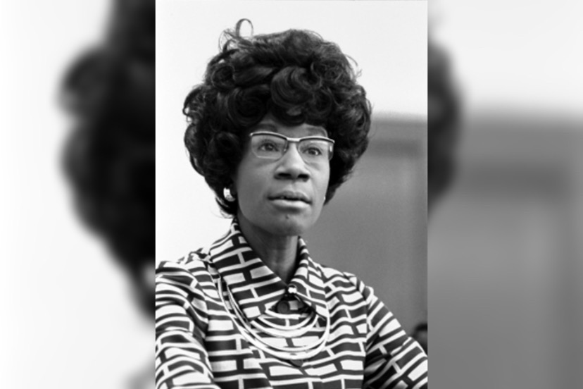 Shirley Chisholm was a trailblazing American politician as the first Black woman ever elected to the U.S. Congress and the first Black person to seek a major party's nomination for the U.S. presidency when she ran for the Democratic Party nomination in 1972. Learn more about Chisholm in her books Unbought and Unbossed and The Good Fight and the 2004 documentary Chisholm '72 directed by Shola Lynch.
