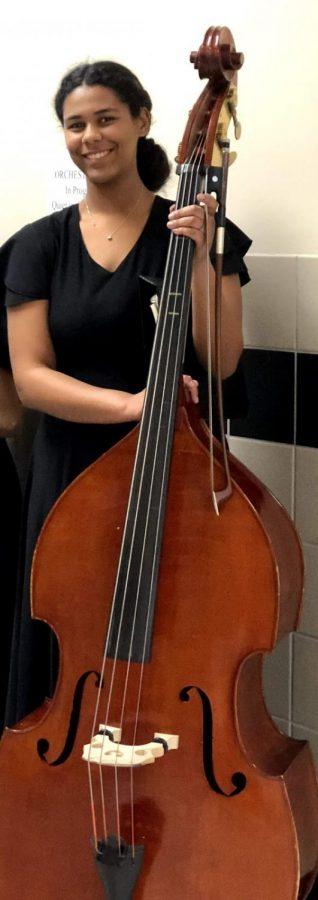 Moving from Cello to double bass, senior Sasha Cornelius describes her future ambitions.