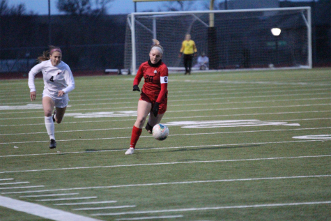 The soccer team battles Wakeland High school Tuesday night. The girls stay back in defended The Nest while the boys head to Wolverine territory.