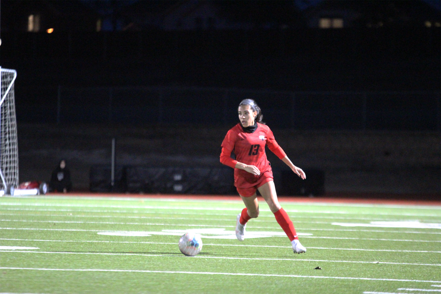 Starting Tuesday off the girls' soccer team fell short to the Knights 2-0. Shortly after the boys' team was able to out work the Knights 2-0.