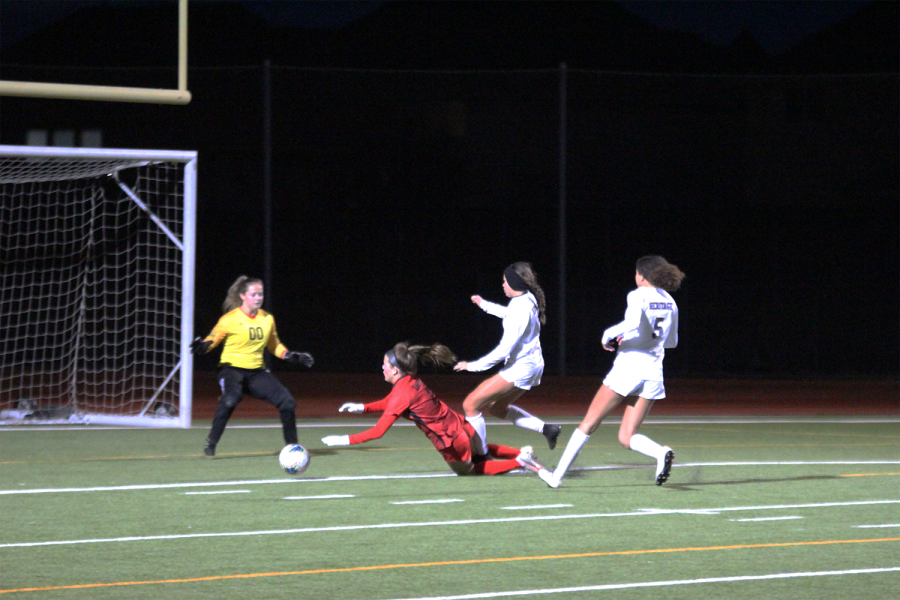 After the girl's soccer team put up a fight, Wednesday night they came out on top 3-2 against the Titians. Shortly following the girls game the boys fell short 2-1 to the Titians.