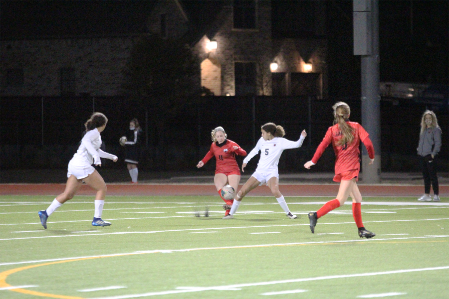 Starting the second round of playoffs the girls team tied 1-1. While the boys team fell short 3-1, they look to communicate better is Tuesday's game.