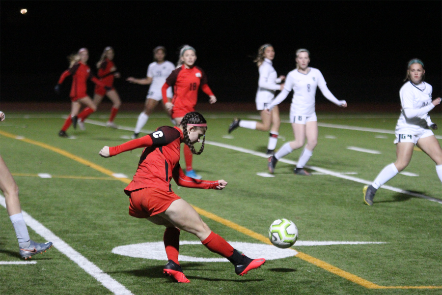 Both boys' and girls' soccer take on Independence in close to freezing weather. After the girls coming off a tie, and the boys a loss, the teams hope to get their first win of the second round of District 9-5A.