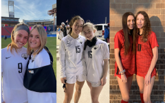 Three seniors on the soccer team get the opportunity to ens their last year of high school soccer playing with their younger sister. For all six, they love the opportunity to play with each other and finds that it pushes them to be better athletes.