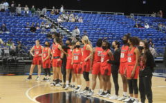 For the third year in a row, the Redhawks girls' basketball team found themselves standing on the court at the end of the UIL 5A state championship awaiting their medals. While the team earned a gold medal and the state title in 2020, the team fell short on March 10, 2021, losing to Cedar Park 46-39.