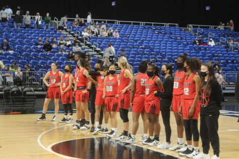 For the third year in a row, the Redhawks girls