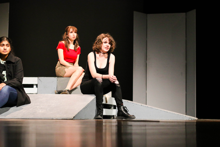 After practicing and perfecting their craft since the beginning of the school year, theatre will travel to Lebanon Trail for the One-Act Play competition where they will perform The Actor's Nightmare.