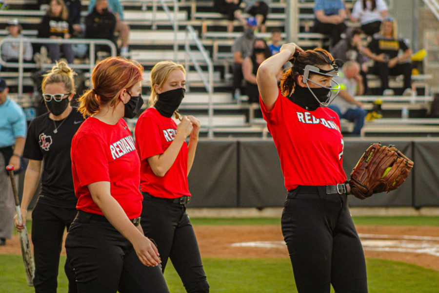 Taking the field for the final time Tuesday at 7:15 p.m., the Redhawks softball team hosts Lone Star.