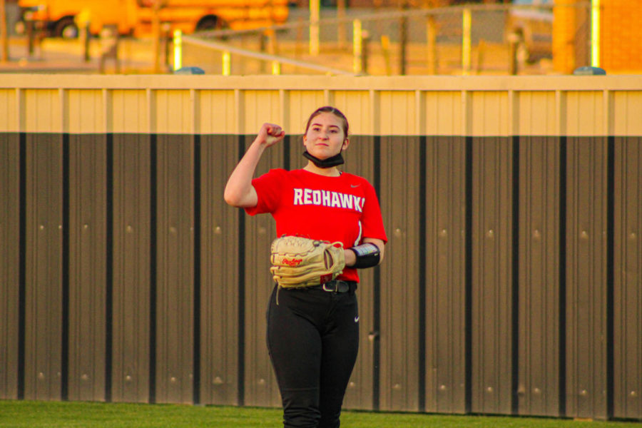 The softball team has only a few games left, one of those being Tuesday against Wakeland. The team plays at 7:15 at The Nest.