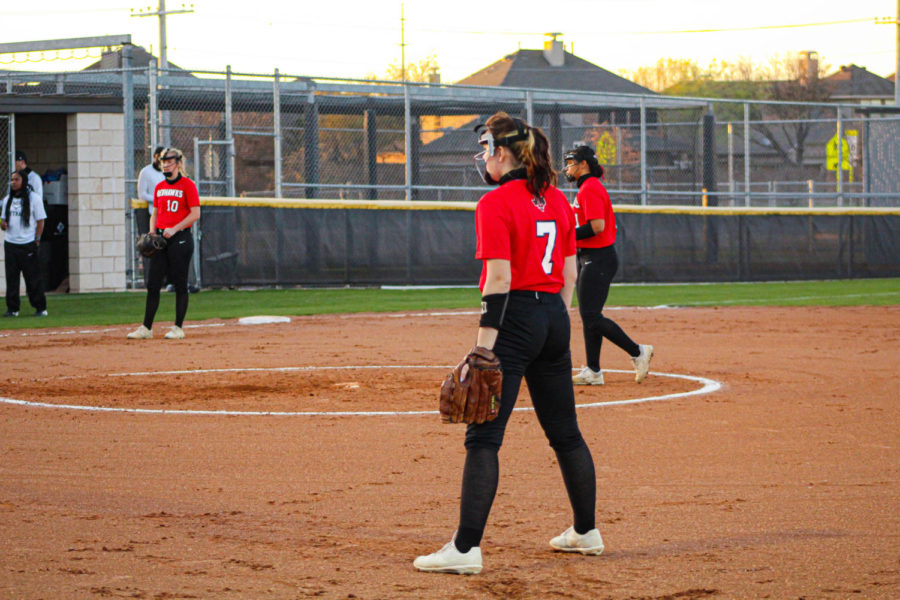 With only a few games left the softball team fell short to the Raccoons Tuesday night. The team Currently has 0-15 record after losing to the Raccoons 0-10.