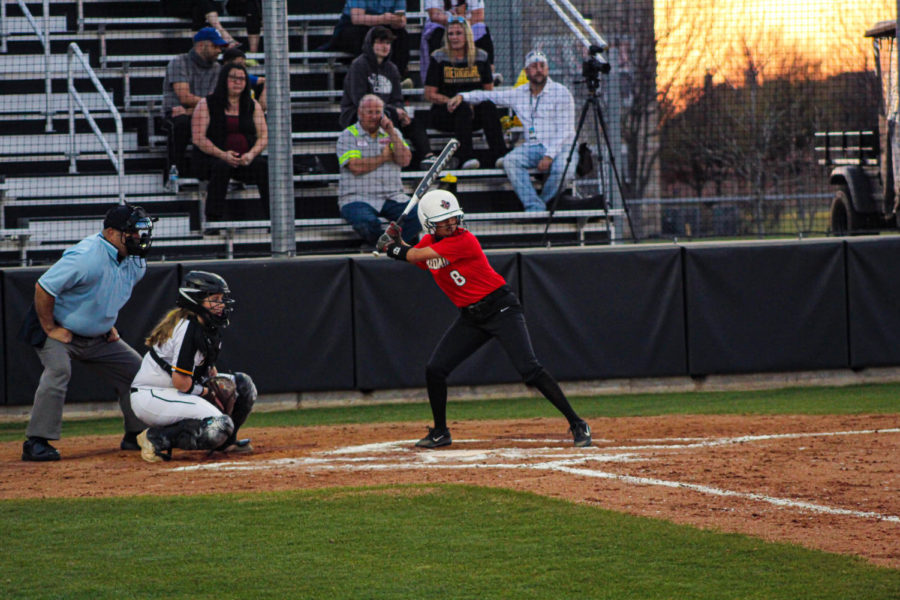 The softball team continued their season Tuesday night against Heritage High School. They team fell short to the Coyotes 10-0.