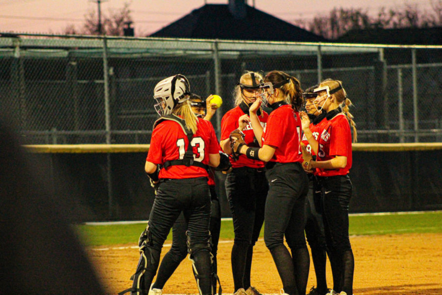 Redhwak softball lost their second to last game of the season to Reedy high school on Friday. With only one game left for the season, the team is glad they got a chance to come together and play.