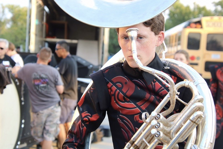 Sophomore and tuba player Caden Harris discusses his passion for music in the weeks addition of Artistic Expressions.