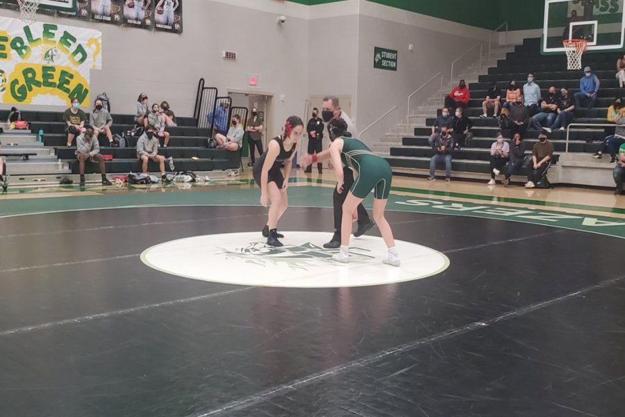 Wednesday night the Redhawks were back on the mat, as the team was able to compete after a year long break. The boys team finished 2-1-0, while the girls team finished 2-1.