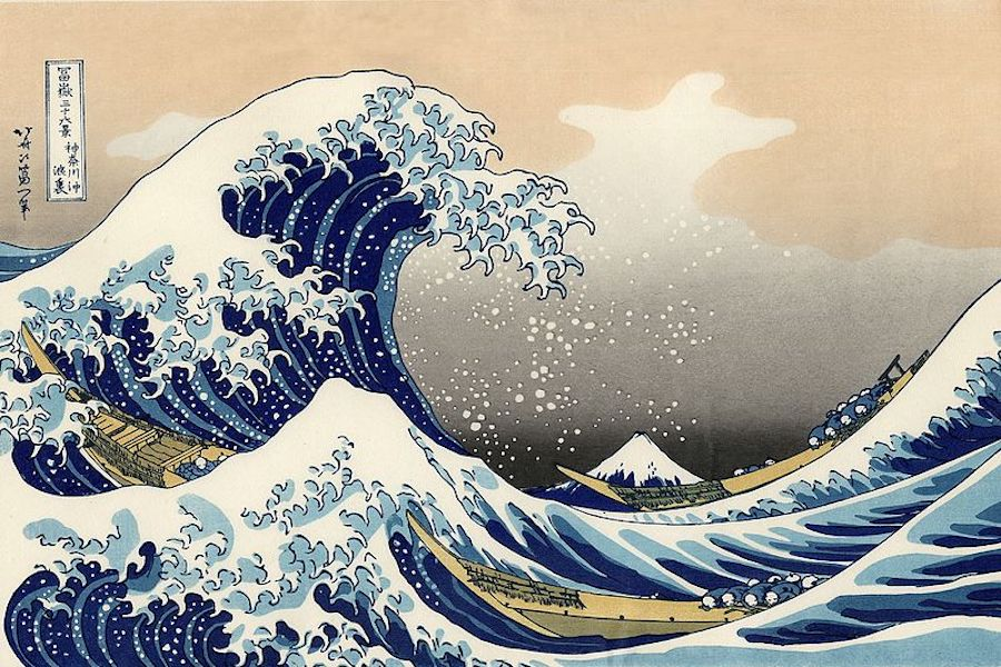 One+of+the+most+famous+Japanese+prints+from+the+1800s+is+The+Great+Wave+off+Kanagawa+by+Katsushika+Hokusai.+Inspired+by+paintings+and+prints+such+as+Hokusai%27s%2C+PreAP+Art+II+students+are+working+on+a+mixed+media+piece+as+they+learn+about+Asian+styles+and+skills%2C+and+the+history+behind+them.%C2%A0%E2%80%9CI+wanted+my+students+to+have+a+basic+understanding+of+Japanese+prints+and+painting+techniques+that+influenced+the+Impressionist+painters+in+the+late+1800s%2C%E2%80%9D+teacher+Pernie+Fallon+said.