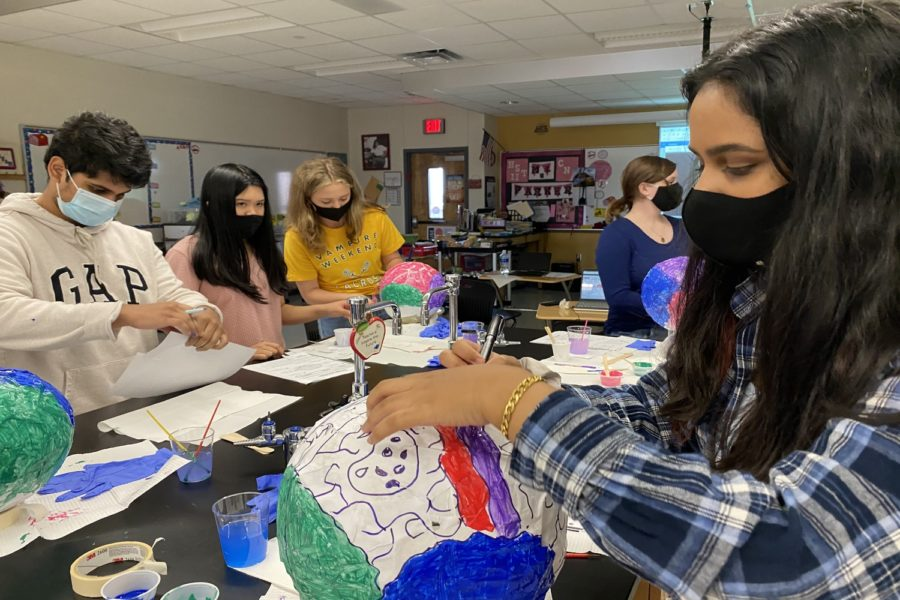 Taking a break from their clinical rotation schedule, Health Science 2 classes spent the day learning about the nervous system. With that came learning about the sections of the brain, where students created and labeled their own brain caps.