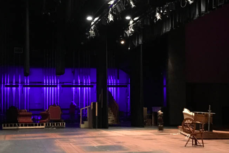 Both the auditorium and the theatre room underwent renovations. This update benefits students and allows them to practice using new technology for future situations.