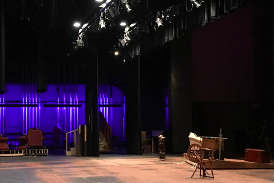 The spotlight is on theatre students as they get inducted into International Thespian Society on Thursday. The organization offers a community of others involved in high school as well as opportunities to like workshops to improve their skills.