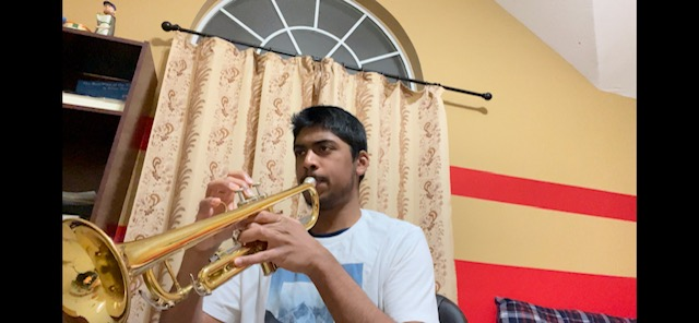 In this weeks addition of Artistic Expressions, Junior trumpet player Advaith Dinesh discusses his passion for music.