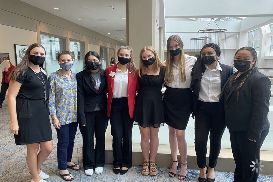 As an organization dedicated to learning about life skills, the FFCLA Redhawk team competed at the State Conference with events ranging from interior design to dollars and sense.