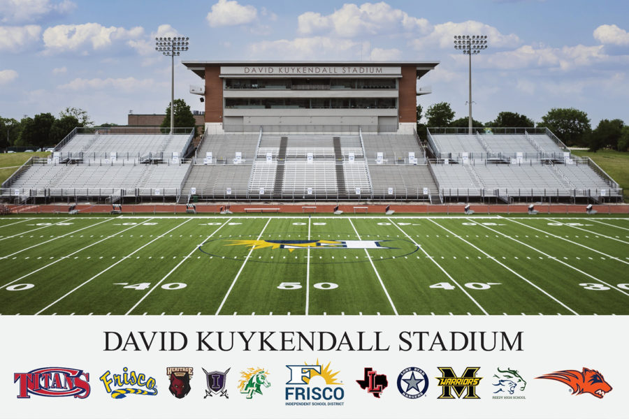 The Frisco ISD Board of Trustees voted to change the name of Memorial Stadium to David Kuykendall Stadium to honor the retiring athletic director of the district David Kuykendall.