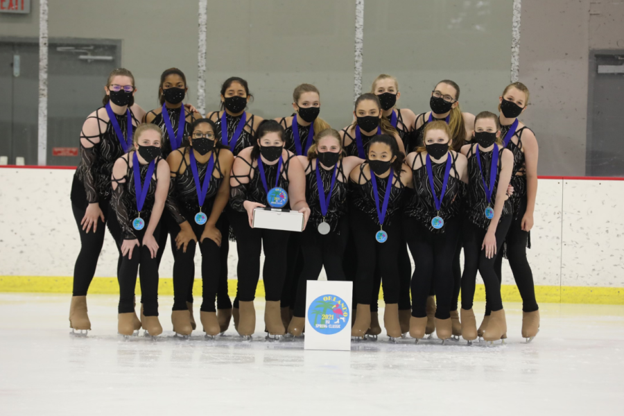 A group of Texas ice skaters placed 1st in Orlando Florida. The team thinks their hard work got them to where they are.