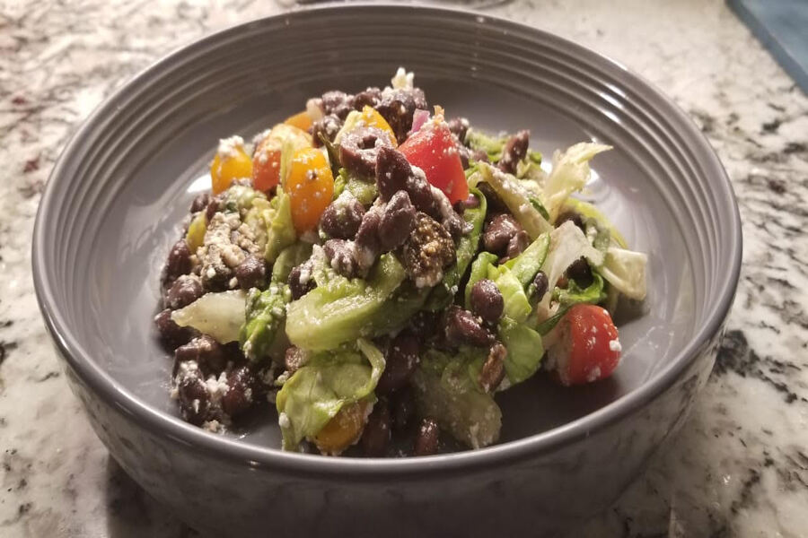 In this weeks Goodbye Gluten, Girish provides the recipe for a fresh black bean salad. From a healthy dish to the perfect addition for a dinner party, the salad is sure to spice up any meal.