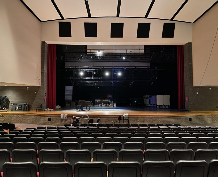 Scheduled for the next upcoming weeks, the theater departments auditorium upgrades will likely be beginning in October.