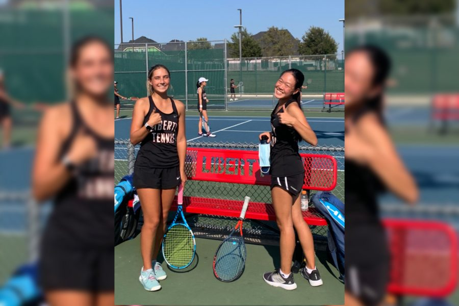 Sporting undefeated records, junior Milla Dopson, and freshman Hailey Zhang hope to remain unbeaten as the Redhawks (5-1) try to take down the undefeated Independence Knights (6-0).