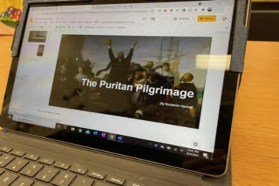AP US History students get creative with a month-long geography and migration project.