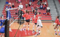 With three games left in the season, the Redhawks take on Heritage High School on Tuesday hoping to keep their playoff drive going. However, for four sophomores, this is their first Varsity playoff competition.