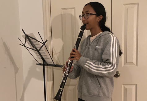 Freshman Subina Baiju sits down with Wingspan to discuss her passion for the clarinet.