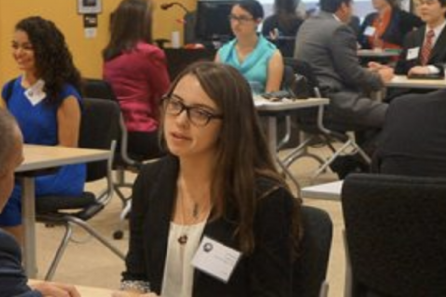 Thursdays business symposium at Emerson High School allowed ISM students to listen to various panelists of professionals in order to gain more insight on future careers.