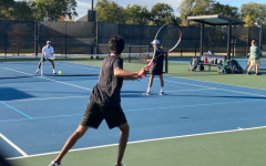 After making a trek through playoffs, the fall season of Redhawk tennis comes to a close. The team took on Lebanon Trail High School leaving with a 10-4 loss.